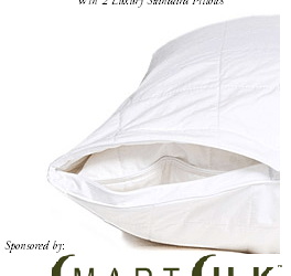 Blogger Opportunity: Sign up to offer this giveaway for 2 luxury SmartSilk Hypoallergenic Pillows to 1 of your readers!