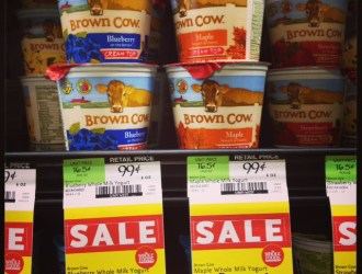 Whole Foods Brown Cow Yogurt FREE after coupon stack!!!