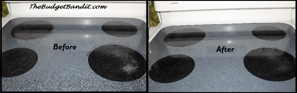 how to clean stove top rings