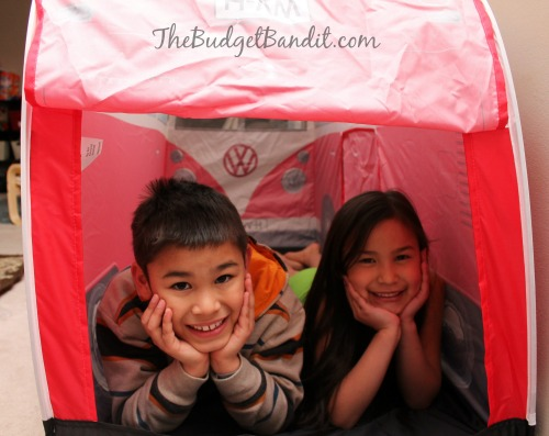 1965 VW C&er Van Play Tent $59.95  sc 1 st  Living Chic Mom & 1965 VW Volkswagen Camper Tent #Review - Living Chic Mom