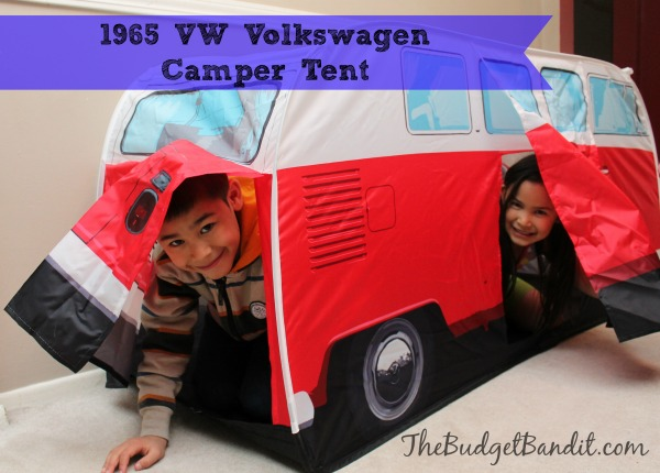 My kids love to play and hide inside forts and tents. So when we received the 1965 VW Volkswagen c&er van tent they were ecstatic and in a huge rush to ...  sc 1 st  Living Chic Mom & 1965 VW Volkswagen Camper Tent #Review - Living Chic Mom