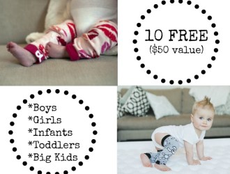 Score 5 FREE pairs of Baby Leggings…just pay shipping ($50 value)!!!!
