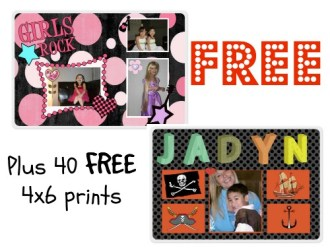 Snag a FREE personalized Placemat and 40 FREE prints from York Photo!!! Love this deal