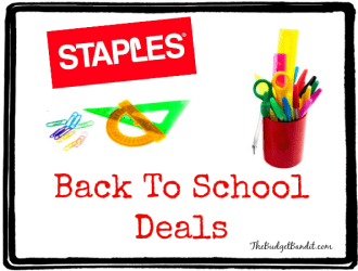 Staples Back to School Deals 7/20-7/26