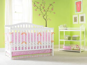 Beautiful Convertible Crib just $87.27 shipped