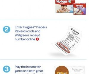 Walgreens A Little More Huggies Exclusive Rewards Program and $25 Gift Card Giveaway!