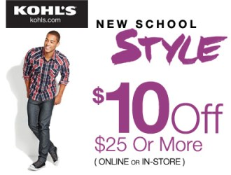 Kohls *HOT* new promo codes stack for $20 off a $35 purchase