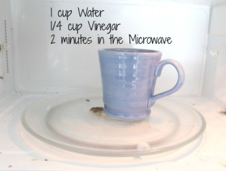 How to clean your microwave without chemicals (or elbow grease)