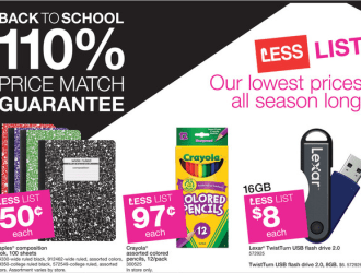 Staples Back to School Deals 8/3-8/9 (FREE Pentel Eraser and tons more HOT deals)