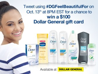 Celebrate your Beauty with Dove and Dollar General with Fabulous Savings!