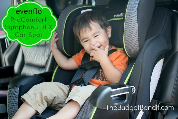 Evenflo ProComfort Symphony DLX Car Seat Review - Living Chic Mom