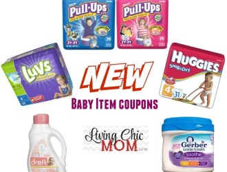 New *HOT* Baby Item Coupons – Huggies, Luvs, Gerber and more!