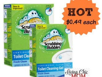 Target *HOT* Scrubbing Bubbles Deal – just $0.49 each