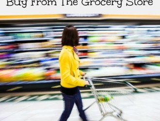 10 Things You Should Never BUY From The Grocery Store