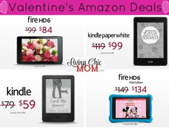 Valentine's Amazon Kindle Deals (You don't want to miss)!!!