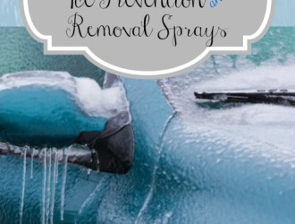 DIY Ice Prevention Spray and Ice Removing Windshield Spray!