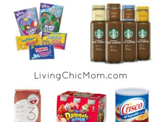 NEW Printable Coupons – Crisco, Starbucks, Easter Candy and more!