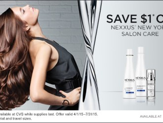 Pamper Your Hair This Spring with the Newly Improved Nexxus Salon Products! #NewNexxusCaviar