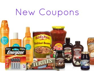 New Coupons – Old El Paso, Pace, Energizer, Speed Stick and more