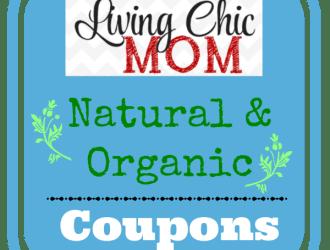 Weekly: Organic Coupons Roundup