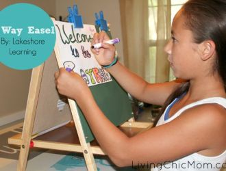 Why you MUST try the 3 Way Easel by Lakeshore Learning