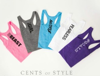 Cents of Style #STYLESTEALS Fitted Tanks 60% off + free shipping
