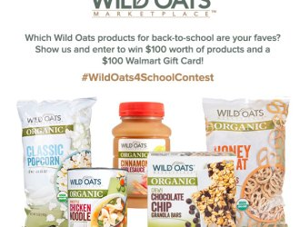 Back to School with Wild Oats – $200 in prizes!