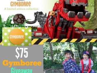 Fall Styles With Gymboree and Dinotrux + $75 Gift Card Giveaway