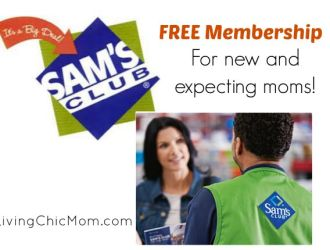 FREE Membership at Sam's Club for New Mom's!