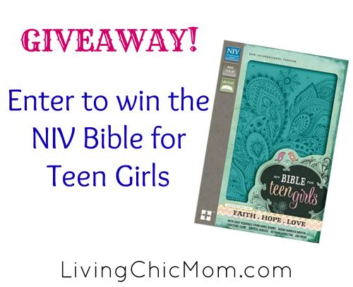NIV Bible Giveaway
