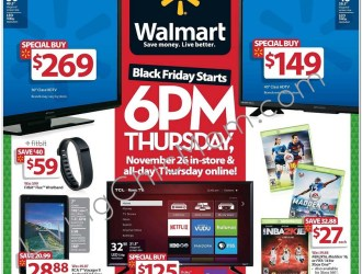 2015 Walmart Black Friday Ad Scan is Leaked!!!