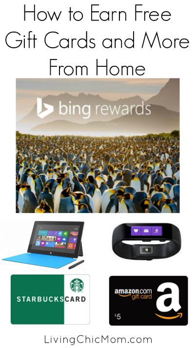 Bing Rewards Freebies