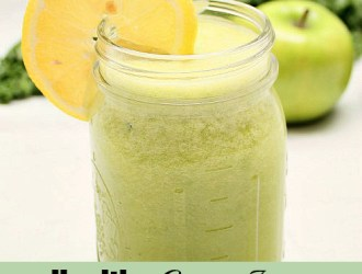 Healthy Green Juice – That Tastes Delicious!
