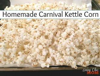 Homemade Carnival Kettle Corn Recipe