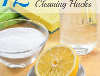 12 All Natural DIY Cleaning Hacks