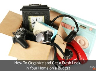 How To Organize and Get a Fresh Look in Your Home on a Budget
