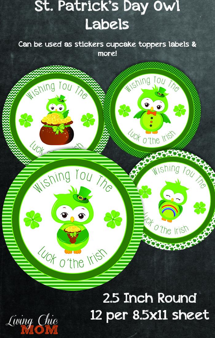 St Patricks Stickers