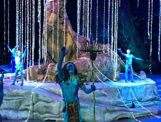 The Cirque TORUK Avatar Show was Amazing