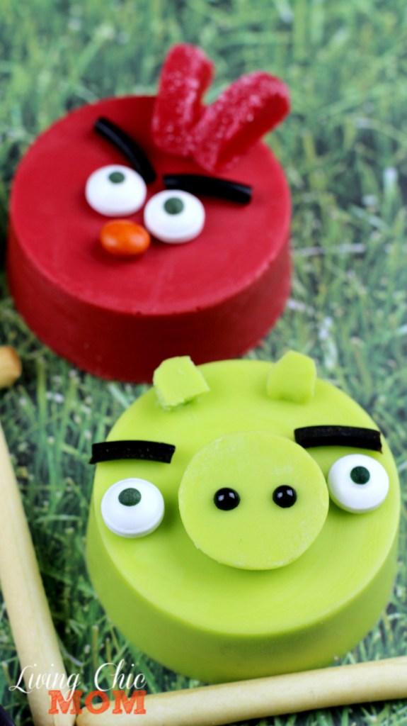 Angry Bird Cookies 4