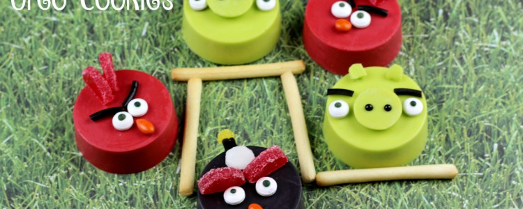 The Coolest Angry Bird Oreo Cookies EVER!