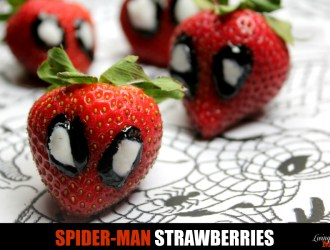 Super Delicious and Fun Spider-Man Strawberries