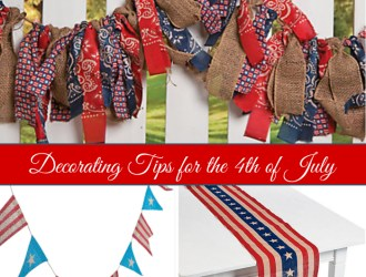 Decorating Tips for the 4th of July