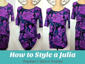 How to Style a Julia
