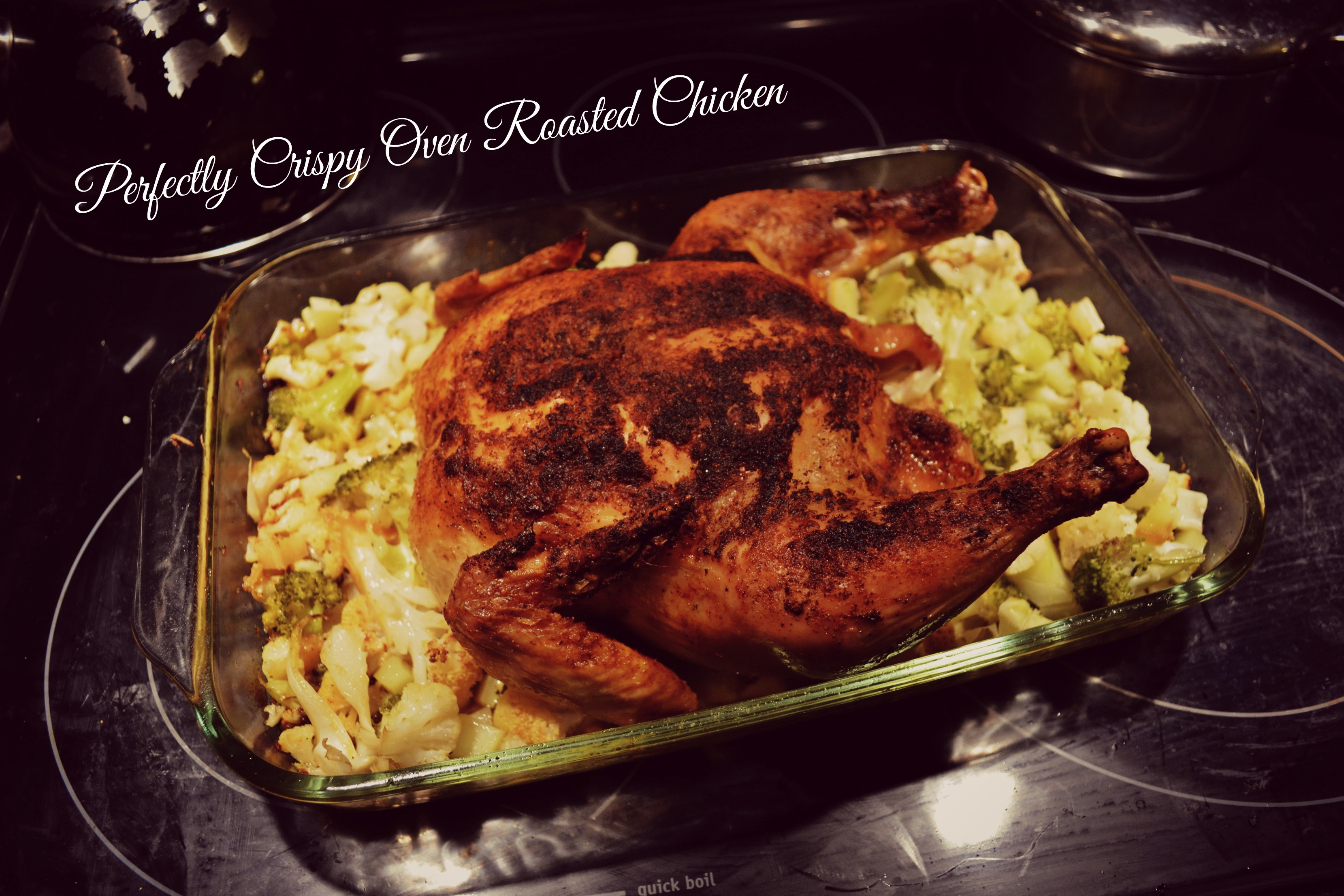 how to cook a whole chicken in the oven