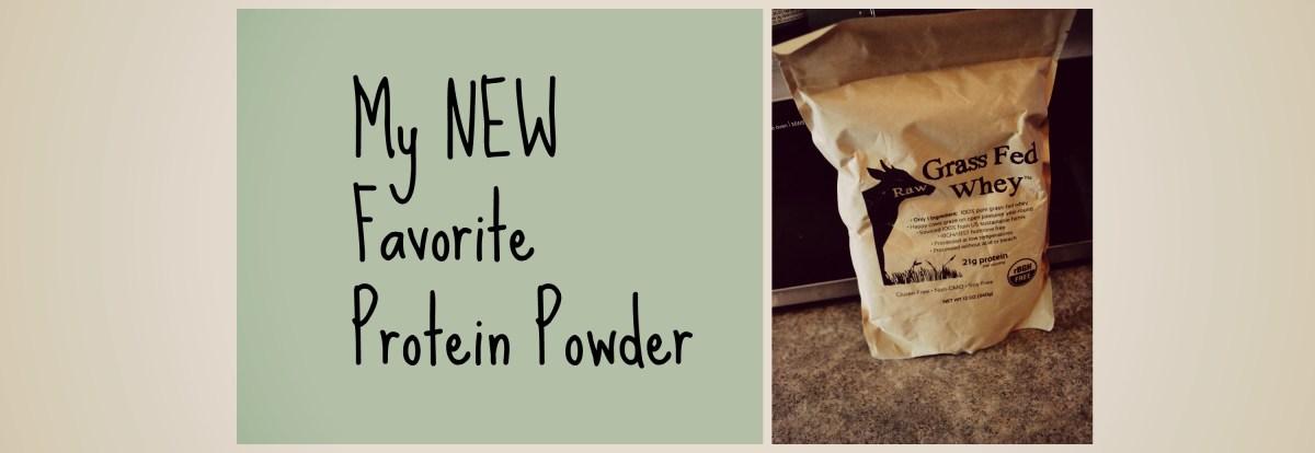 My New Favorite Protein Powder
