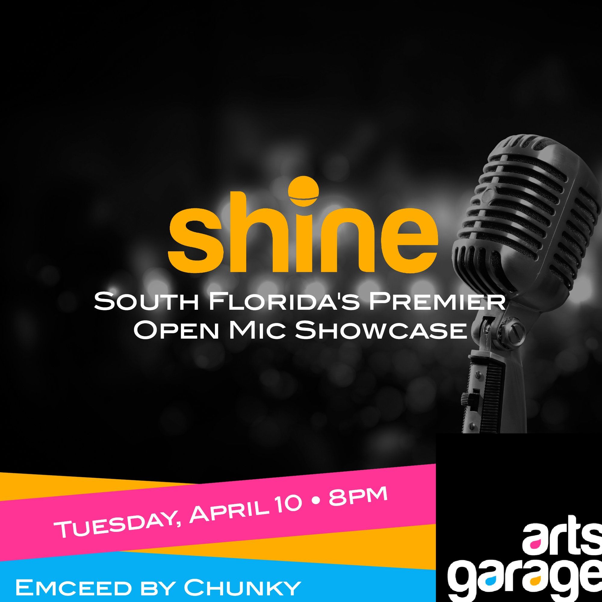 Art Garage Open Mic Shine Livingfla