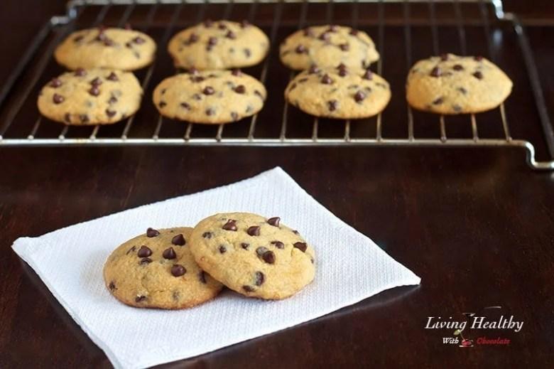 Paleo Soft Chocolate Chip Cookies II