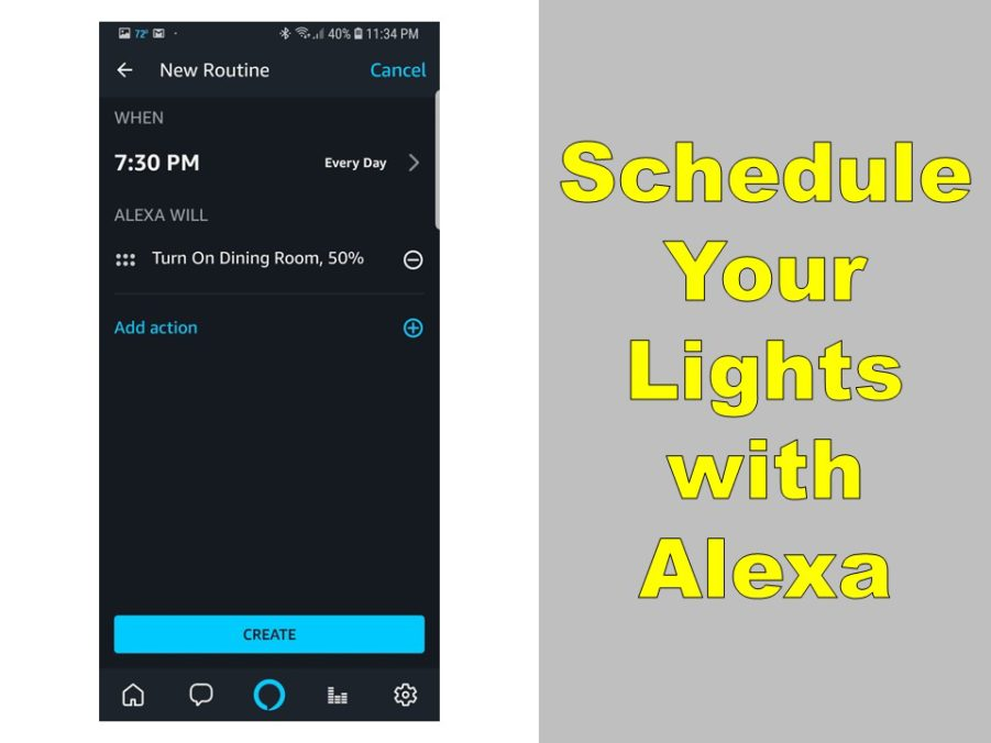 Can Alexa Schedule Lights? Yes How-to Do It