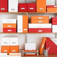 Organizing Ideas - Home Office Storage
