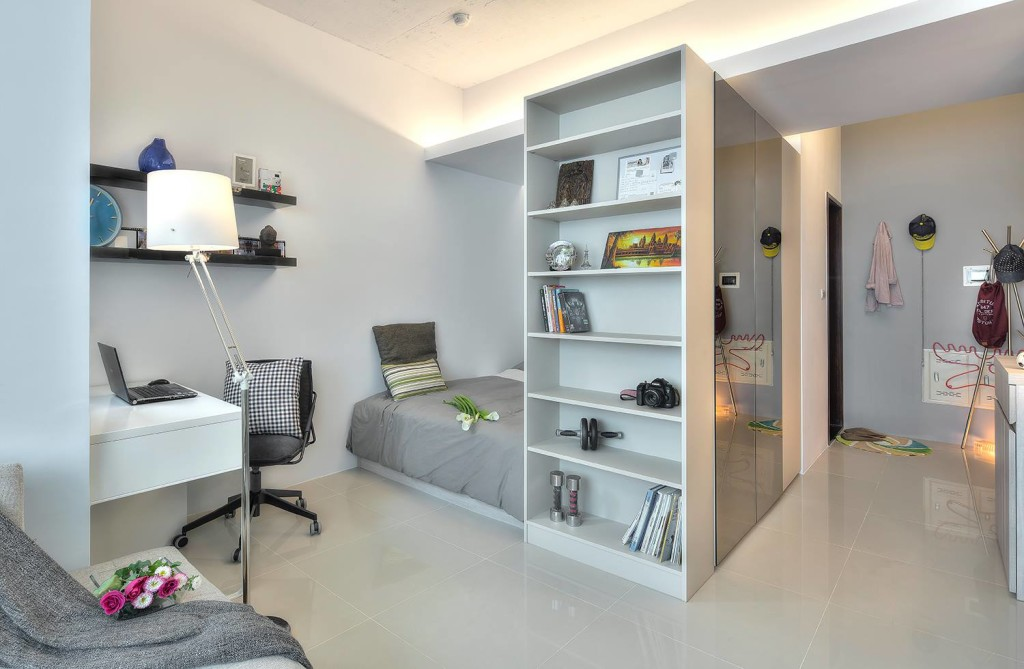 Mini Zimmer Einrichten A 345-square-foot Open-plan Apartment Spiced With A Dash
